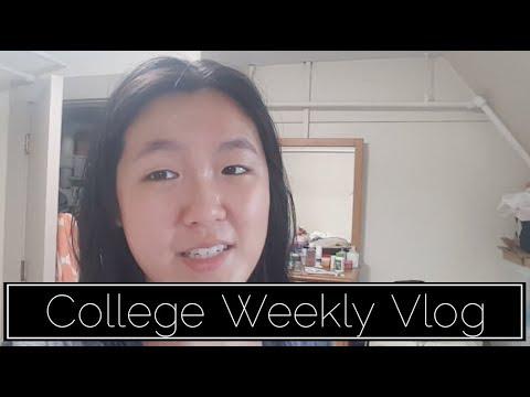 COLLEGE LIFE | WEEKLY VLOG 1