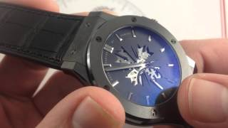 Shawn Carter By Hublot Classic Fusion Ceramic Luxury Watch Review