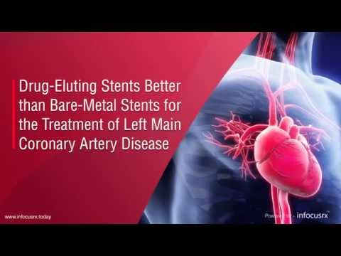 Drug-Eluting Stents is better than Bare-Metal Stents for Left Main Coronary Artery Disease