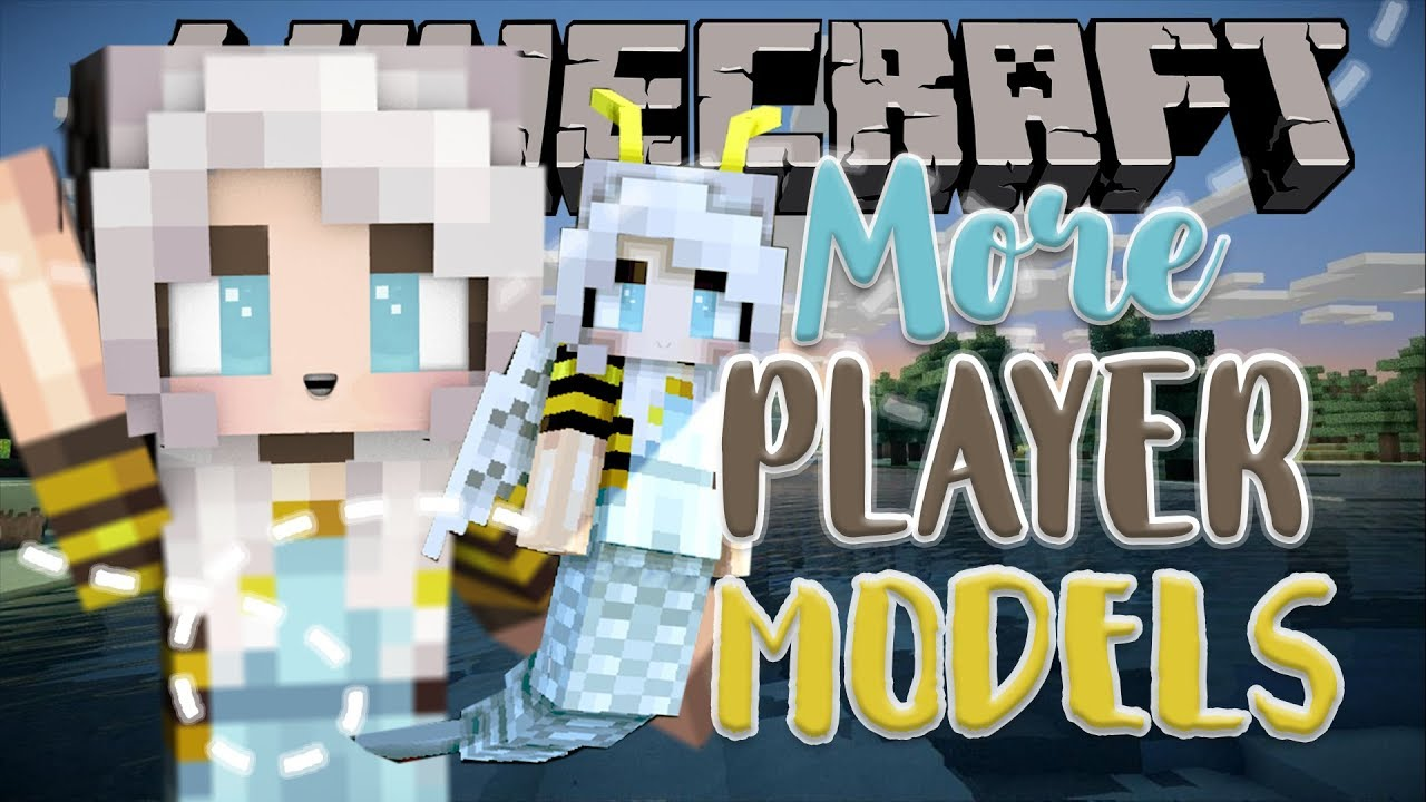 more player models minecraft mod