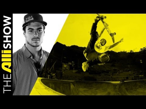 Pedro Barros Skating Brazil's RTMF, Surfing + His Homestead Lifestyle, Alli Show Skate
