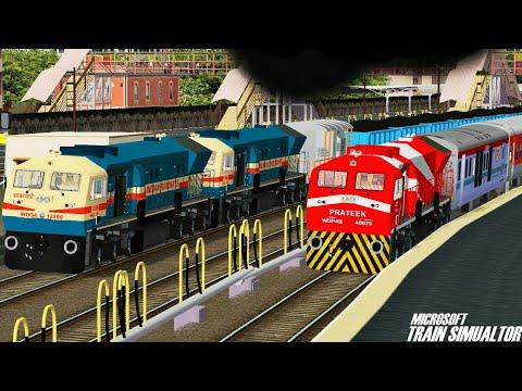 Kamakhya - New Delhi AC Premium Express    Commentary    NFR    MSTS Open Rails Journey Part 1