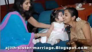 AJITH KUMAR SISTER MARRIAGE ALBUM