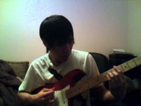 Arctic Monkeys No Buses Electric Guitar Cover Youtube