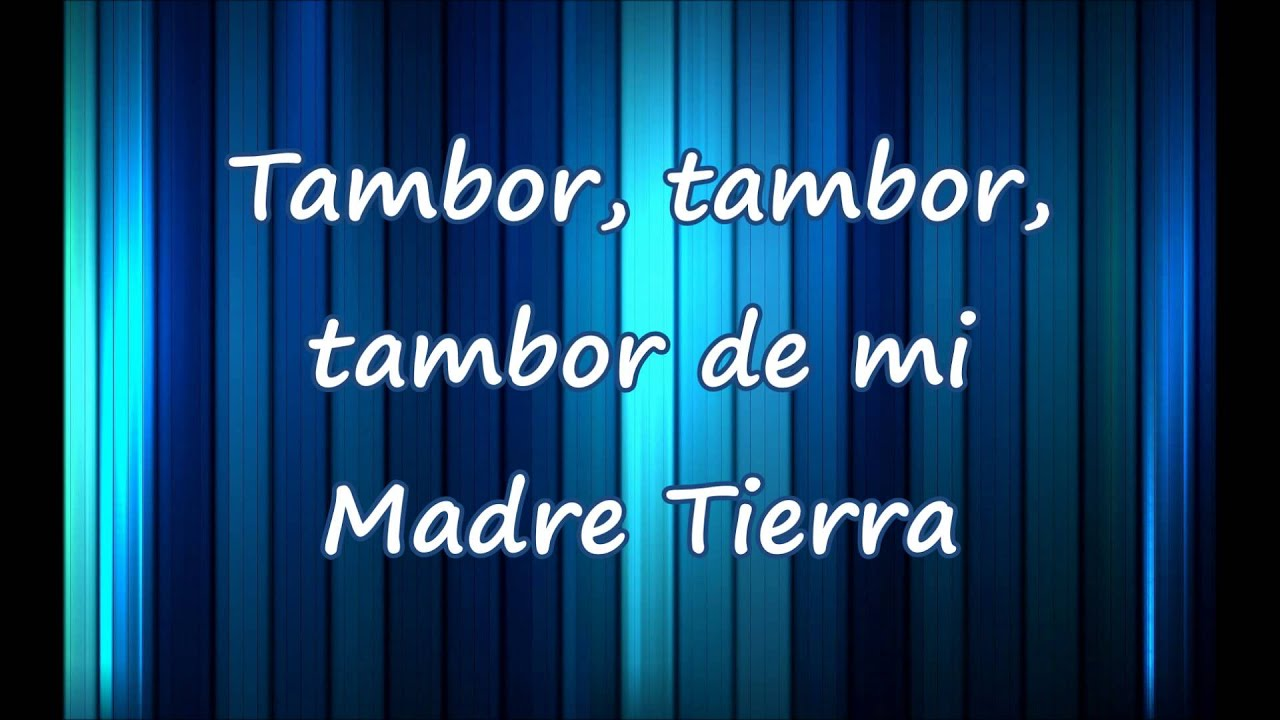 Chayanne Madre Tierra Oye Con Letra Youtube