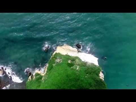 Isla de los pájaros o Peñon de Sua en Ecuador