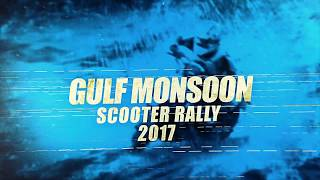 Gulf Monsoon Scooter Rally 2017