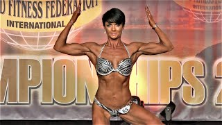 Fiona Carew – Competitor No 55 – Women  Athletic - WFF World Championship 2016