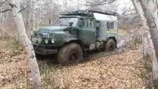 GAZ-66 Mutant in mud