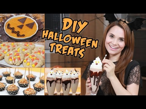 Download Youtube: DIY HALLOWEEN TREATS!