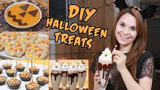 DIY HALLOWEEN TREATS!