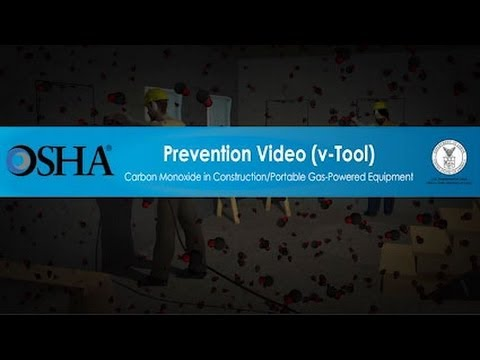 Carbon Monoxide In Construction/Portable Gas-Powered Equipment