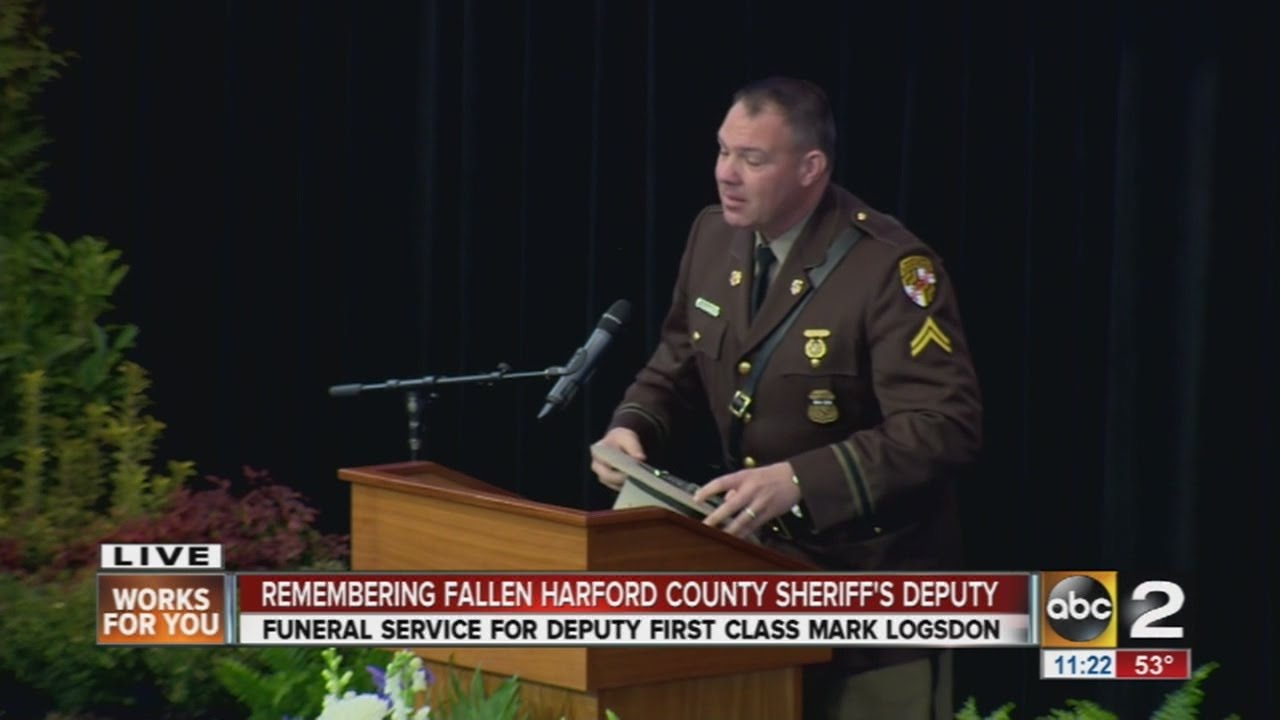 Adam Argenbright of Maryland State Police remembers fallen friend