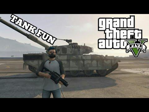 GTA5 Funny Moments || Tank Fun , Boat People , Stunt God