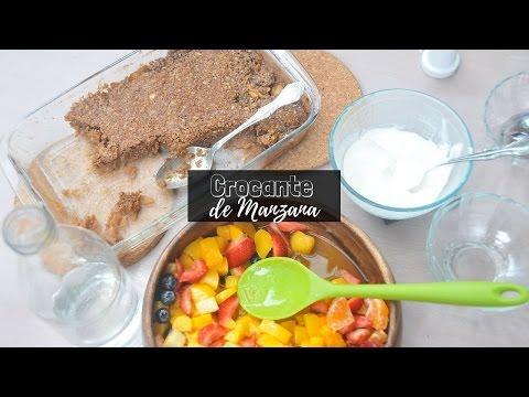 Cómo Preparar un Crocante de Manzana Sano, Rico y Fácil | La Espátula Verde