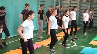 Урок фізичної культури, вчитель Васянович Ю.В.