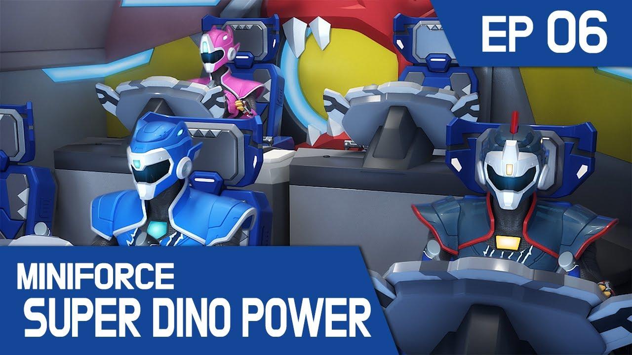 [MINIFORCE Super Dino Power] Ep.06: Popo's Shoes Strike Back!