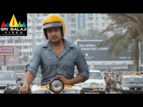 Crazy Movie Santhanam Chicken Comedy | Aarya, Hansika, Santhanam | Sri Balaji Video