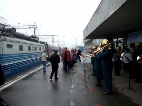 Пенза-1 Встреча туристического поезда.MPG