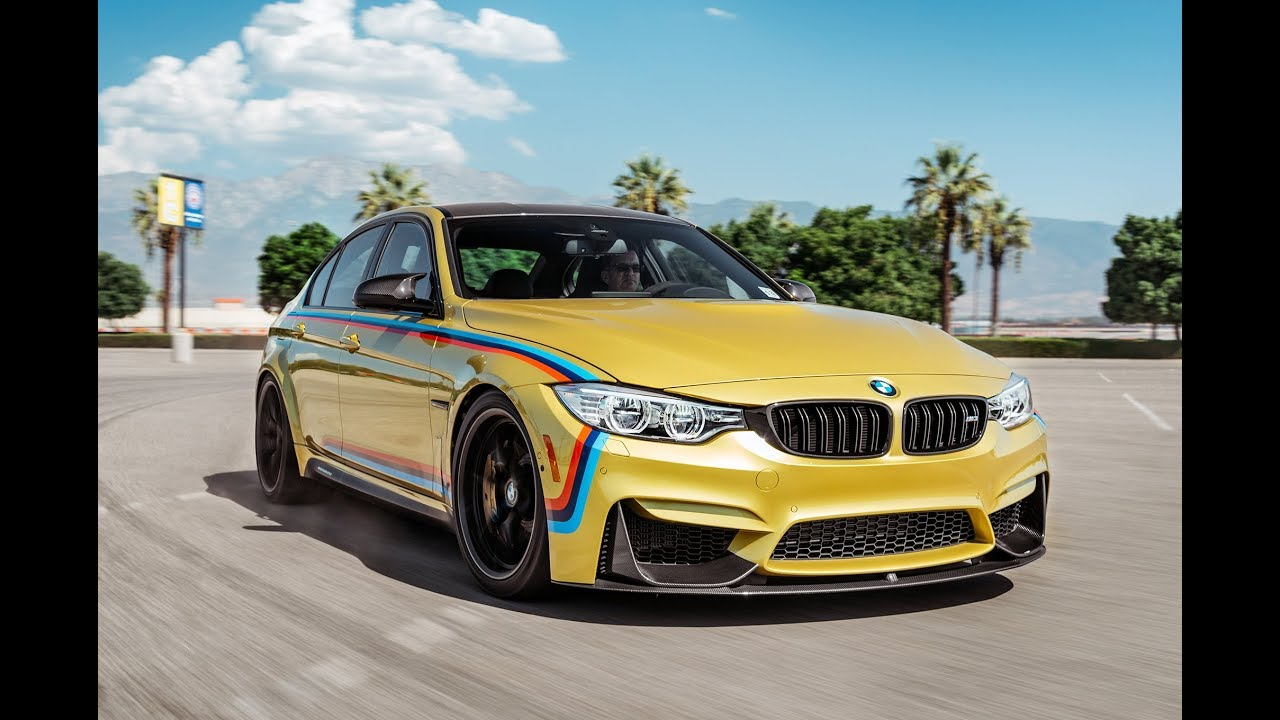 News: BMW M3 With M Peformance First  Views
