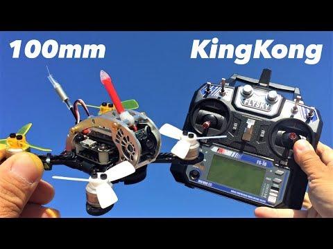 KINGKONG FLY EGG 100 100mm Mini FPV Racing Drone Flysky BNF