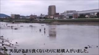 2016/06/05 福岡市早良区、西区の室見川での潮干狩り.