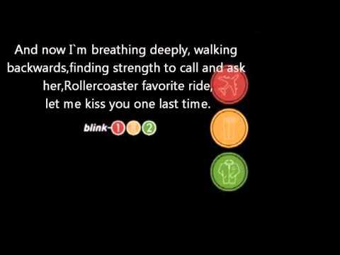 Blink 182 Roller Coaster With Lyrics