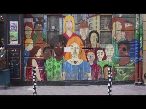 Street Art in Marseille (Cours Julien - France) - Janvier 2014 -- Graffiti -- Tags