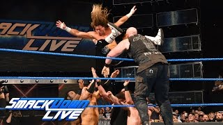 WWE Championship No. 1 Contender Six-Pack Challenge: SmackDown LIVE, April 18, 2017