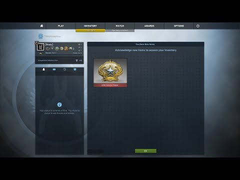 2018 SERVICE MEDAL!!! OFFICIAL FIRST IN THE POLAND! | CS:GO!