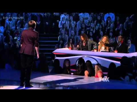 Eben Franckewitz - Set Fire To The Rain - American Idol 2012 (Top 12 Guys)