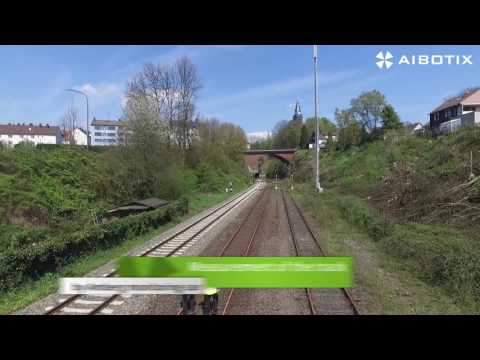 27 km UAV railway mapping with IngenieurTeam GEO