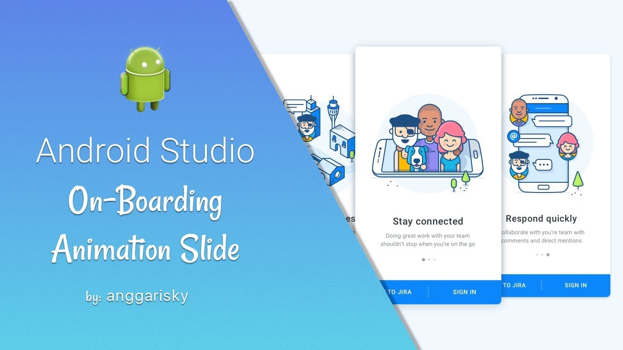 On-Boarding Slider Screen in Android Studio Tutorial