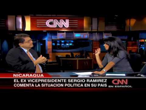 Entrevista a Sergio Ramirez - CNN en Español