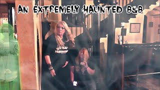 24 Hours At A Haunted Bed & Breakfast! PT 1