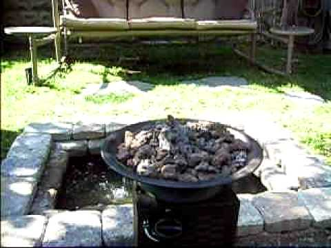 My do it yourself small backyard water feature youtube for Do it yourself water features