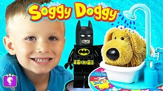 We Play SOGGY DOGGY Game and HobbyBear Opens a Giant Surprise