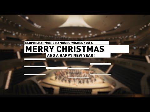 Elbphilharmonie Hamburg | Frohe Weihnachten und ein Frohes Neues Jahr