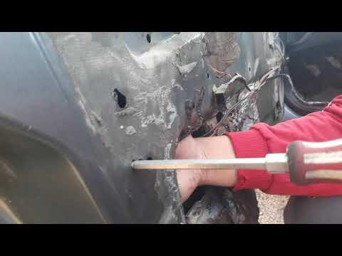 Как снять моторчик двери на приоре (акуватор )быстро и легко.