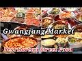 Gambar cover BEST KOREAN STREET FOOD GWANGJANG MARKET STREET FOOD TOUR IN SEOUL SOUTH KOREA