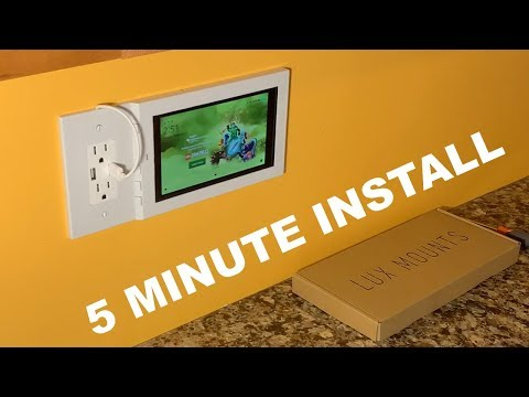 how-to-wall-mount-amazon-fire-7-tablet-using-an-outlet