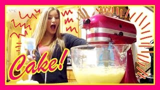How to Bake a Cake | iJustine Cooking