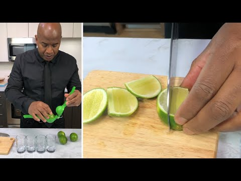 The Best Way to Squeeze a Lime Juice