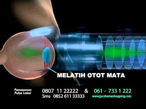 IBRITE - Alat Terapi Mata   Solusi Masalah Mata Minus dan Plus  - YouTube d7fb6f38b6