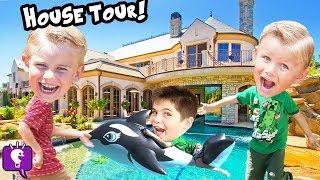 HobbyKids HOUSE TOUR! Adventures Toys EGGS and FUN of Best MEMORIES SHOW HobbyKidsTV