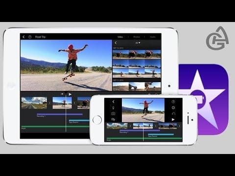 видео: imovie для ios 7 - мощная программа для монтажа видео на ipad