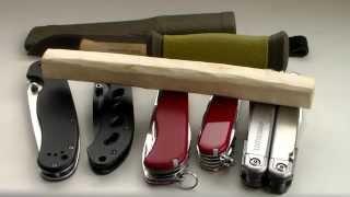 Выбираем лучший нож для выживания/туризма(Давно хотел заснять подобное сравнение популярных ножей, а именно Mora Outdoor 2000, Ontario RAT folder 1, Boker Magnum Shadow, Victorinox..., 2014-06-24T11:23:24.000Z)