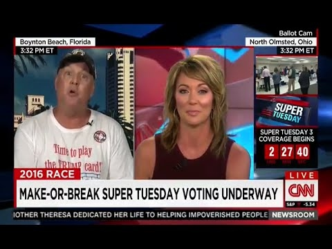 Trump Supporter Baffles CNN's Baldwin With Birther Rant Against Rubio, Cruz, and Obama
