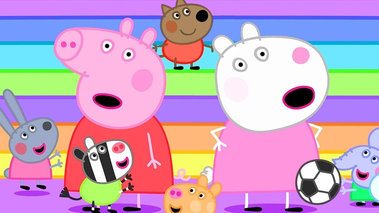Peppa Pig Français | Peppa Et Les Géants | Compilation Spéciale | Dessin Animé Pour Bébé
