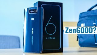 ASUS ZenFone 6: что в коробке, как камера и небольшой опыт использования ZenFone 6